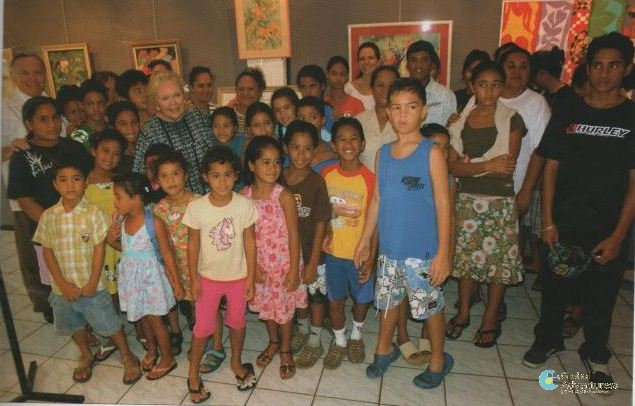 Helping the S.O.S. Children's Village in Papara, Tahiti