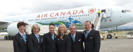 Let Air Canada Entertain You