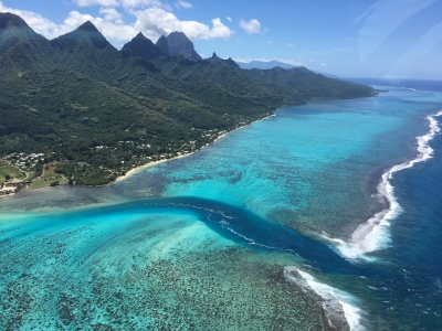 Moorea, the Heart Shaped Island of Polynesia