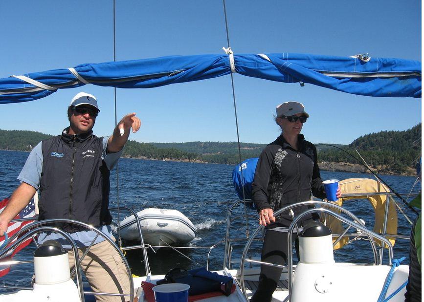 Sailing Adventures of Erick, Rachel & Puccini – San Juans & Gulf Islands
