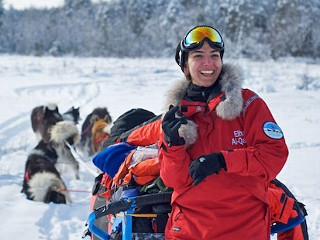 Dubai Woman Breaks Tradition as she Heads to the North Pole