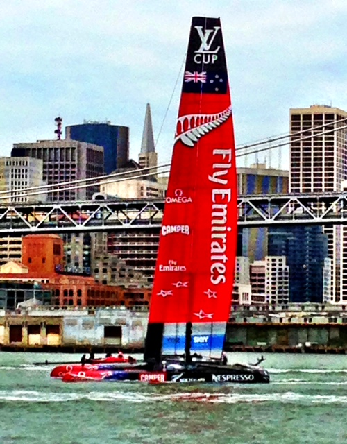 Emirates Flies on Water!