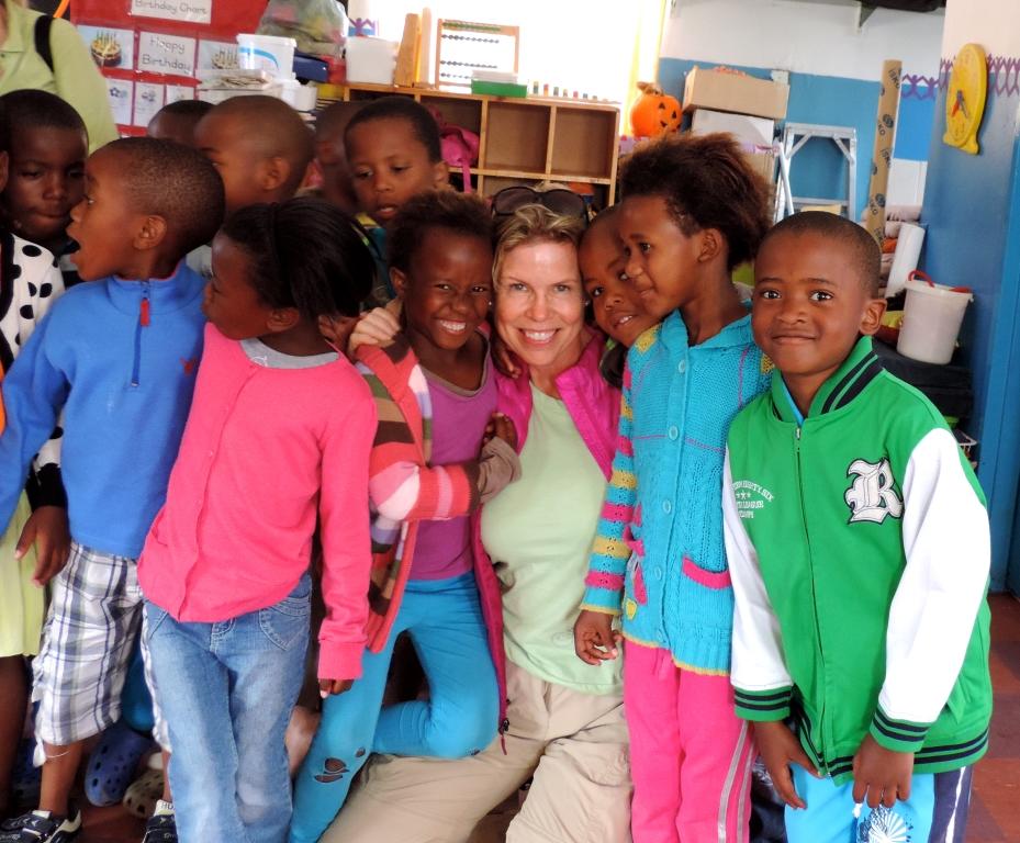 Mandela Lives!  In South Africa's Masi Township