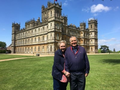 "A Royal Treat!  Visiting Highclere Castle, ""Downton Abbey"""