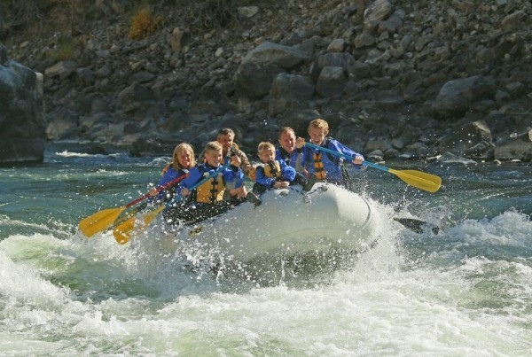 whitewater rafting wyoming
