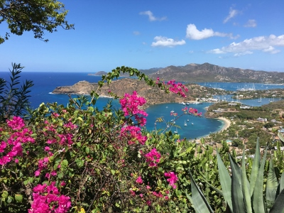 Highlights on Antigua, a Leeward Island in the Caribbean